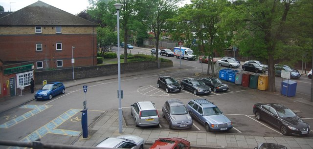 Shortlands Station car park