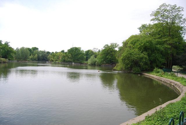 Lake, Crystal Palace Park
