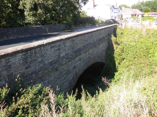 Former railway bridge, Holme Lacy