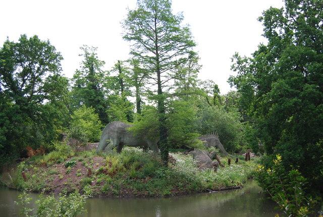 Dinosaurs! Crystal Palace Park