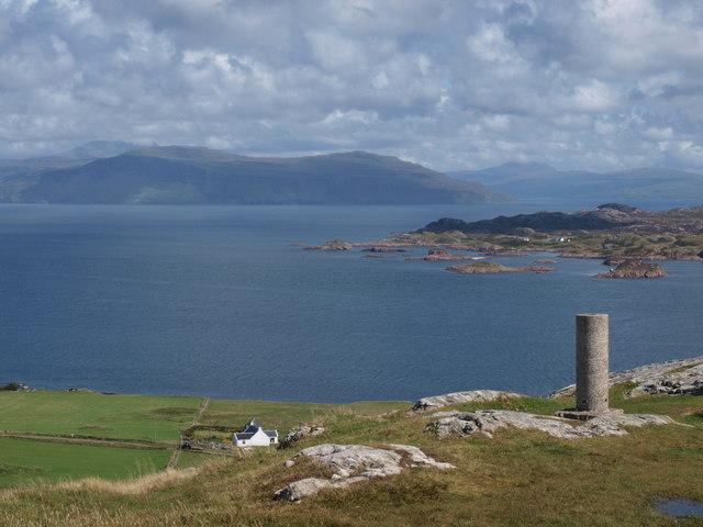 Trig Point Dun I Iona