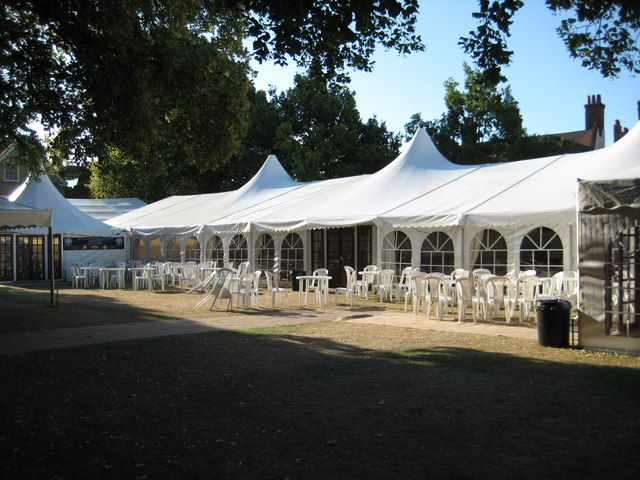 Marquee on College Green