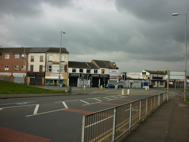 The junction of Waterloo Road and Bury New Road
