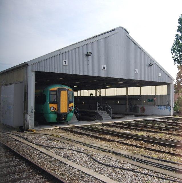 Streatham Hill railway shed