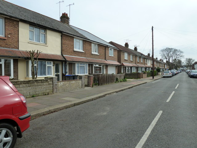 Houses in St Anselm's Road
