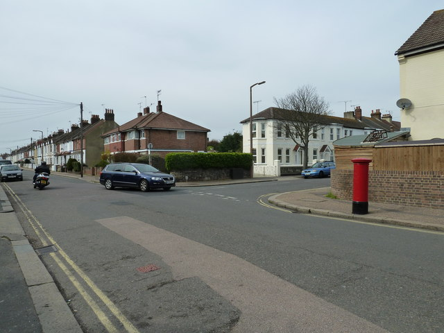 Postbox in Becket Road