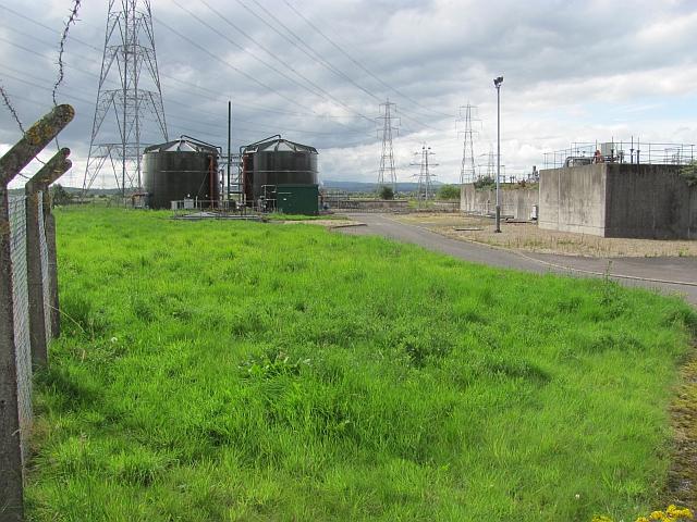 Sewage treatment works,  Alloa