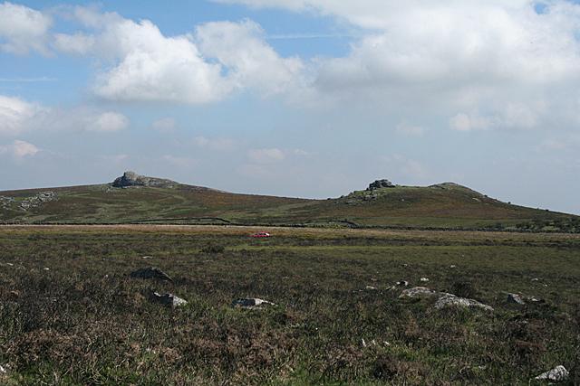 Ilsington: Haytor Rocks and Saddle Tor