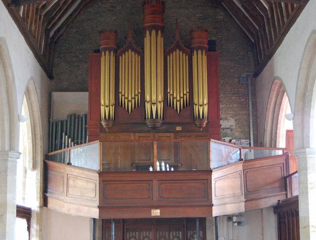 Organ in Rolvenden Church