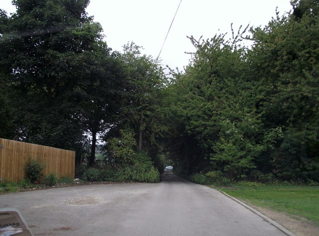 Woodlands Care Home driveway