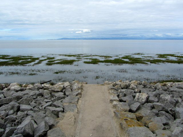Access onto Preesall Sands
