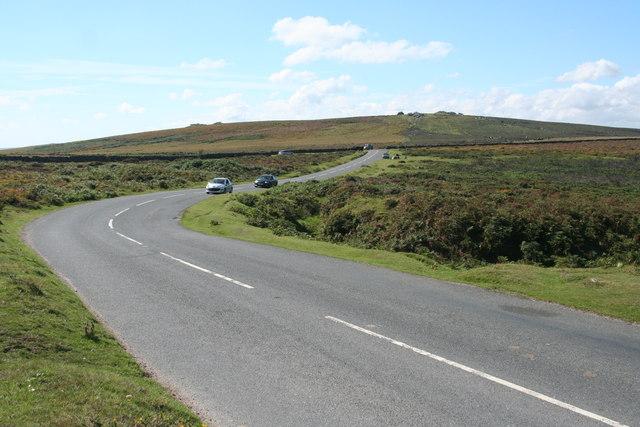 Ilsington: towards Hemsworthy Gate