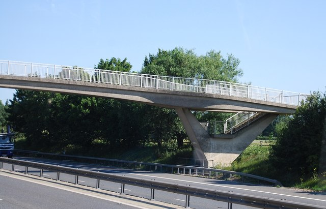 Stort Valley Way crosses the M11