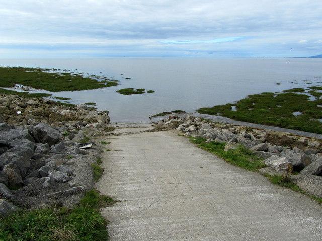 Slipway onto Preesall Sands