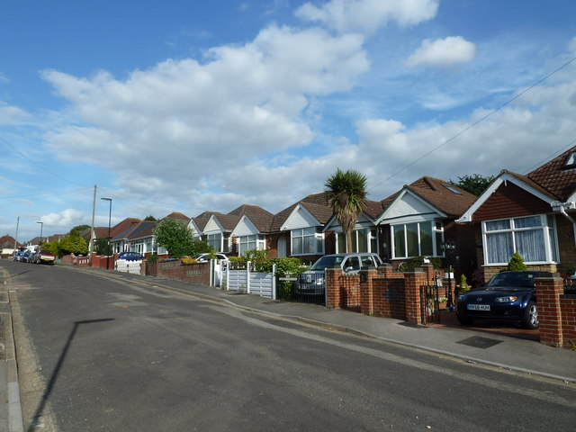 Houses in Maldon Road