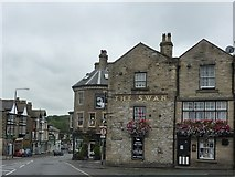 SK0573 : The Swan, Bath Road, Higher Buxton by Peter Barr
