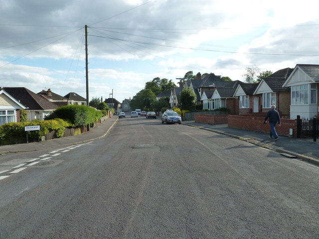 Junction of Merridale and Maldon Roads