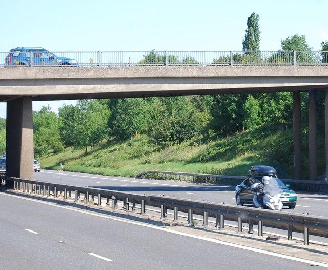 Goose Lane bridge, M11