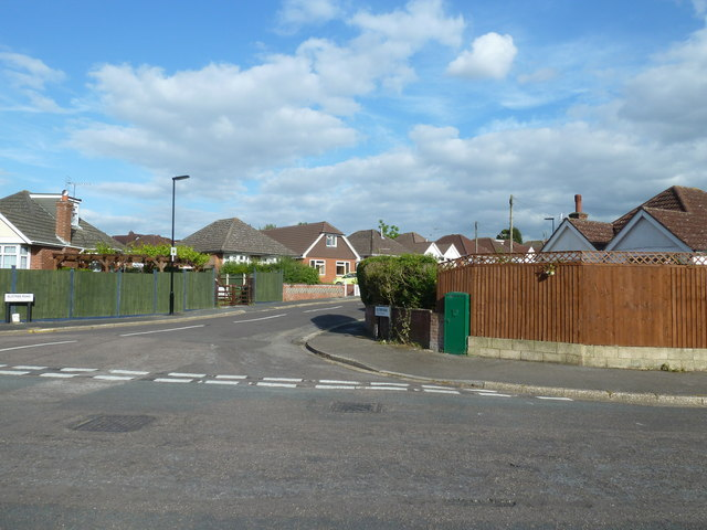 Junction of Elstree and Merridale Roads
