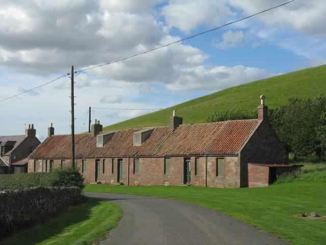 Farm cottages at Deuchrie