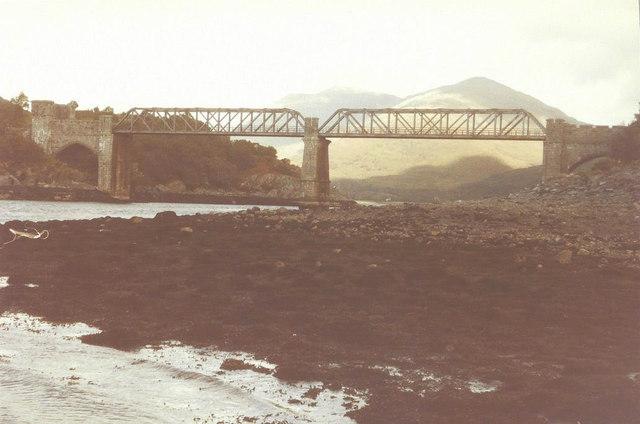 Creagan Railway Bridge in 1984