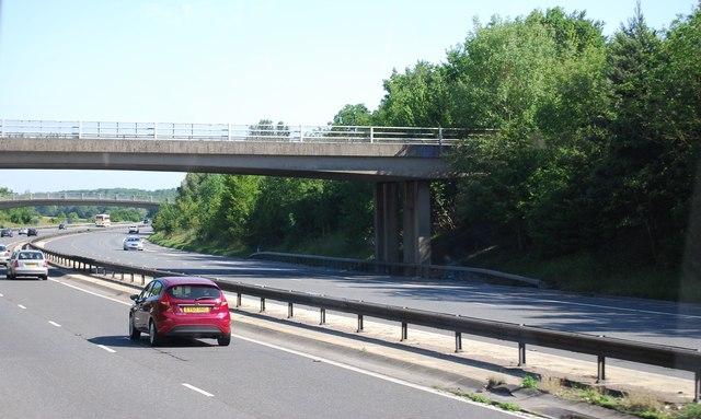 Church Road bridge, M11