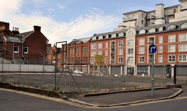 """The """"Aurora"""" site, Belfast (3)"""
