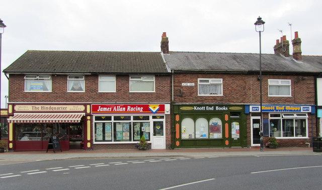 Row of Shops, Knott End on Sea