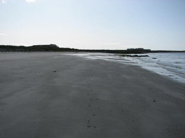 Beach near Taftend, Westray