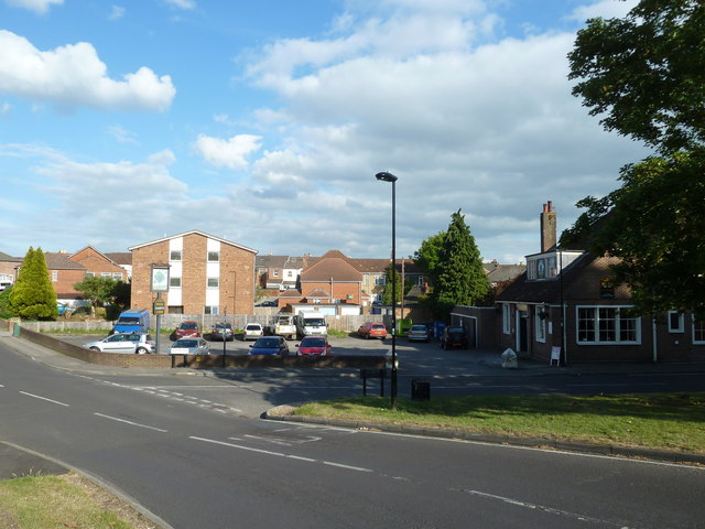 Looking from Sholing Road towards The Pear Tree