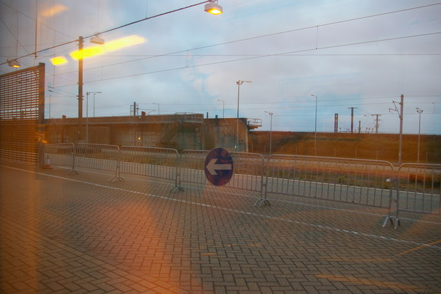 Channel Tunnel Terminal: the last of England