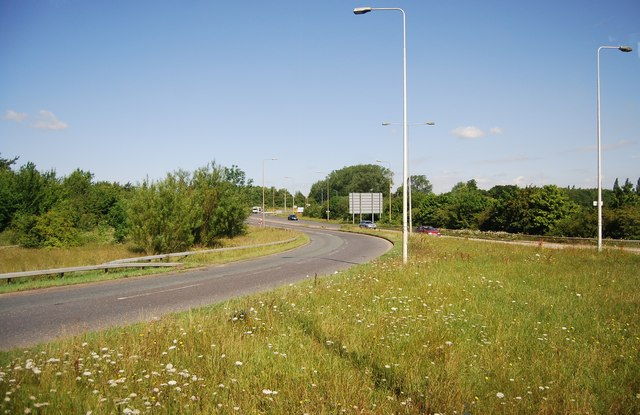 A120, junction 8, M11