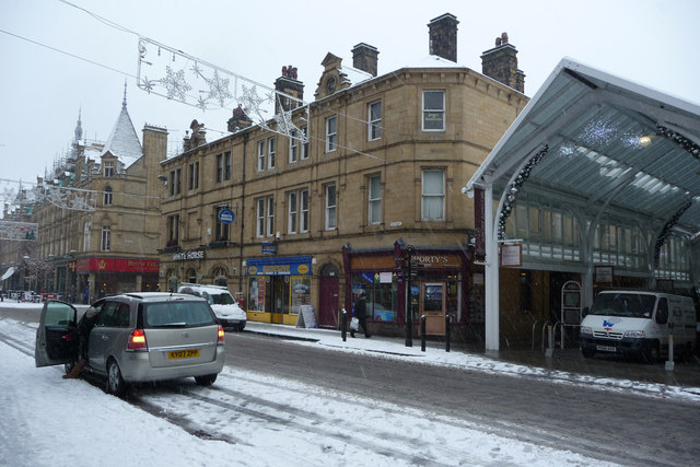 Southgate, Halifax in the snow
