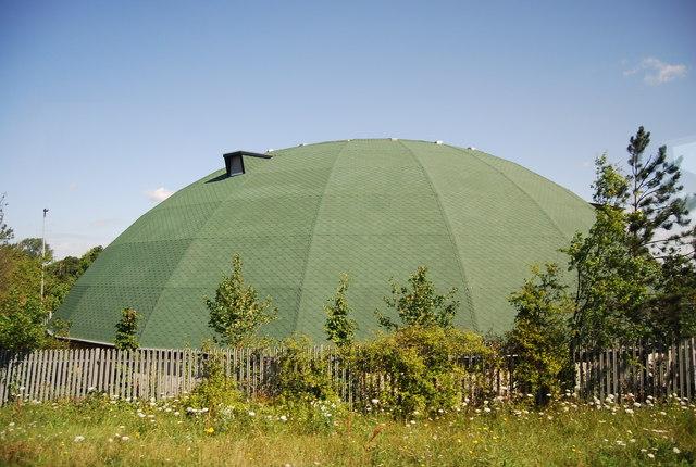 Circular building, Junction 8, M11