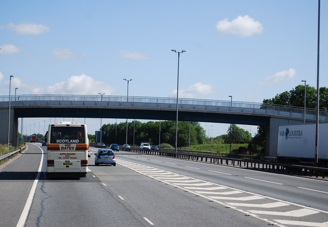 M11 north of junction 8