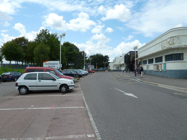 Car park at the rear of Southampton railway station in Western Esplanade
