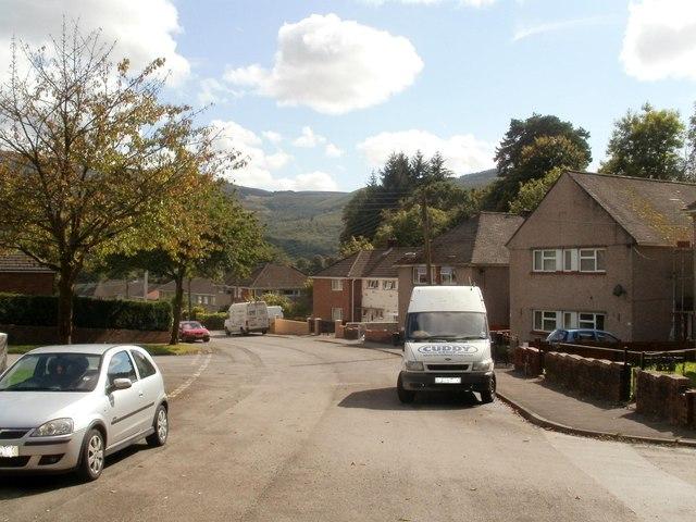 Nant Hir houses, Glynneath