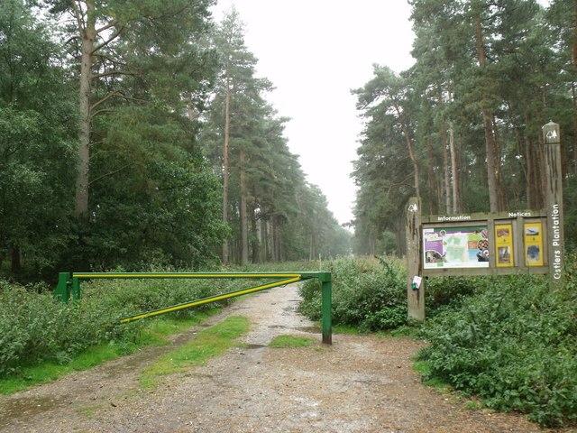 Entrance to Ostler's Plantation