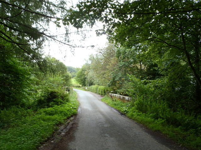 Narrow bridge near Holm of Drumlanrig