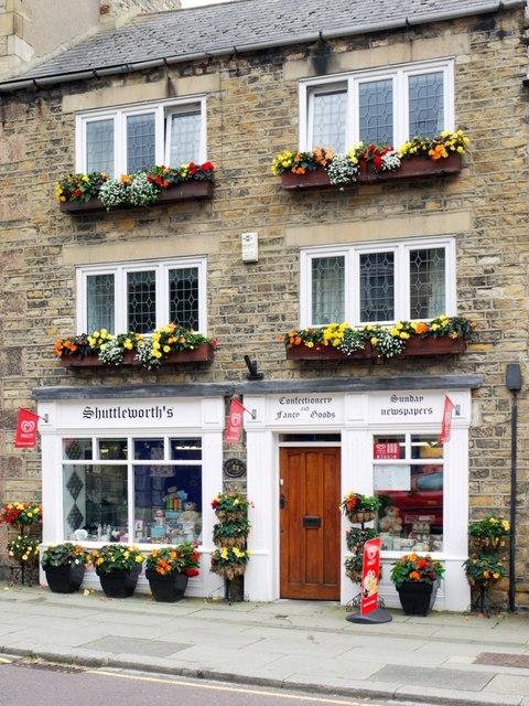 Shuttleworth's Shop, 22 Angate Street, Wolsingham