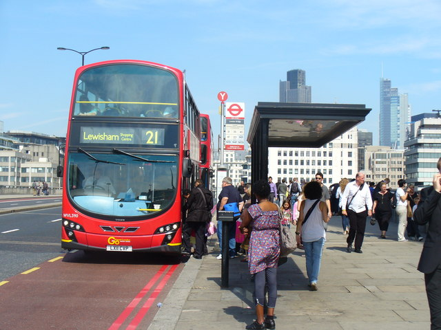 The Changing Face of the London Bus