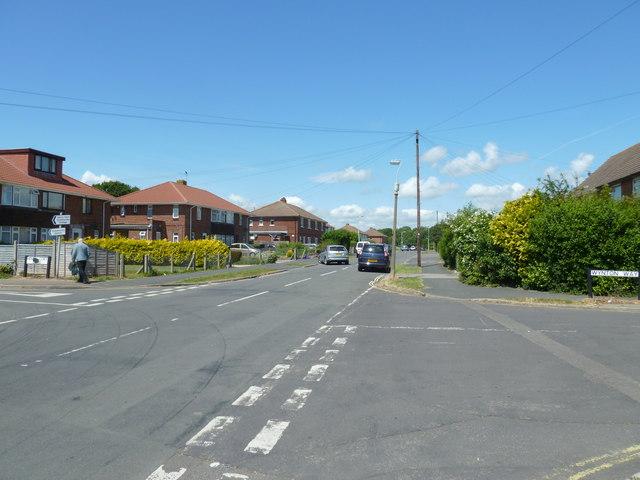 Hillson Drive,/Wynton Way  junction