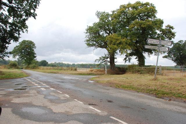 Crossroads near Weston-u-Lizard