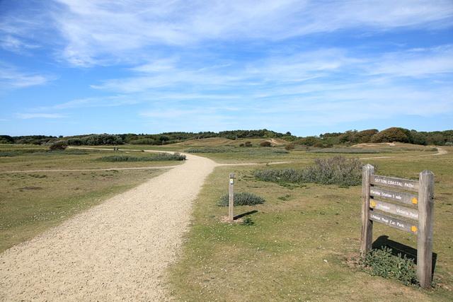 Sefton Coastal Path at Formby