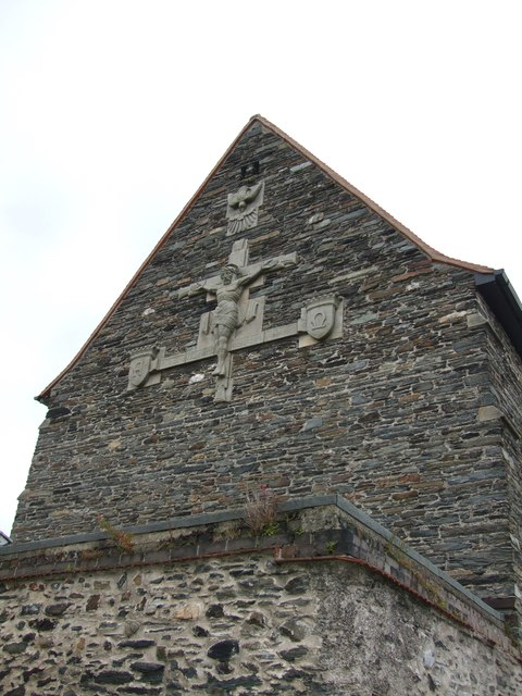 Embellishment on Our Lady Star of the Seas and St Maughold Church Ramsey