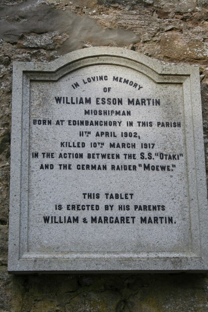 14 years young and killed in action - that was William Esson Martin