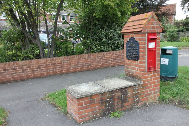 Seat by the Postbox