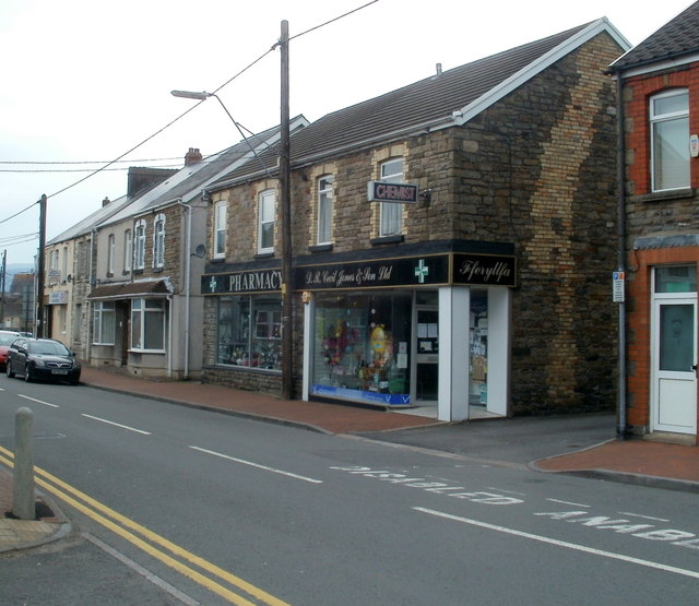 High Street pharmacy, Glynneath