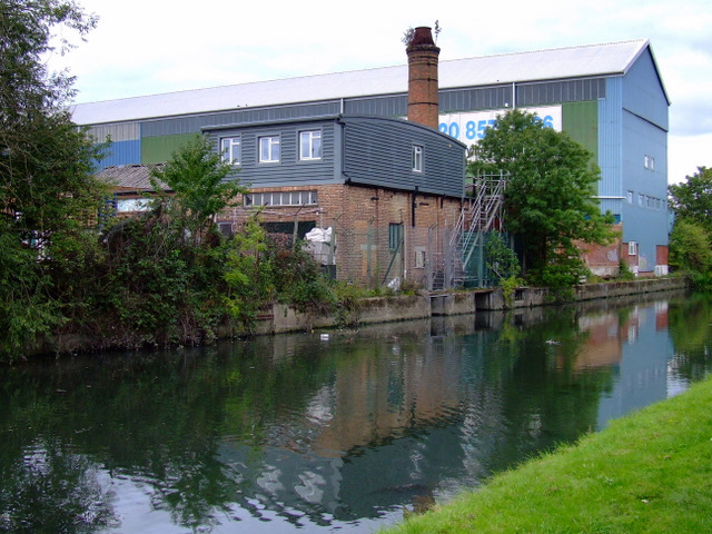Factory by the River Brent