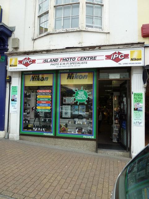 Union Street- Island Photo Centre